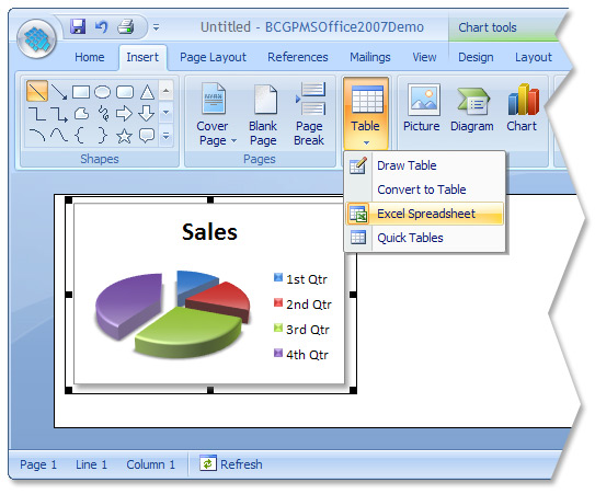 BCGSoft - Feature Tour: Microsoft Office 2007 Look