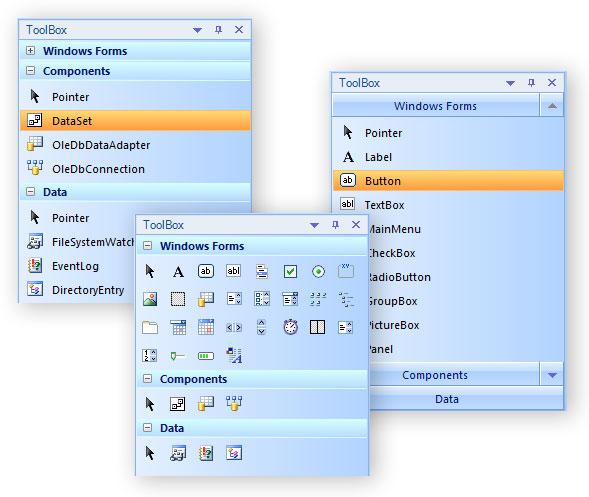 BCGSoft | BCGControlBar for  NET: versions